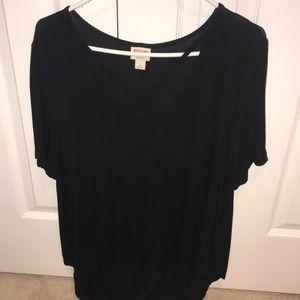 Target Mossimo black tshirt
